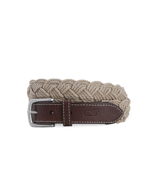 Distressed Rope Belt