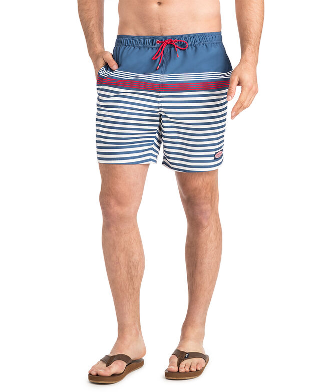 Summerall Stripe Chappy Trunks