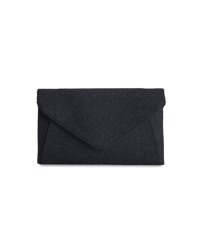 Wool Envelope Clutch