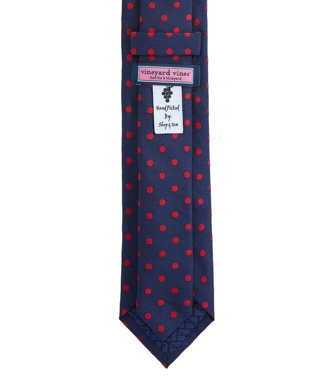 Kennedy Polka Dots Skinny Tie