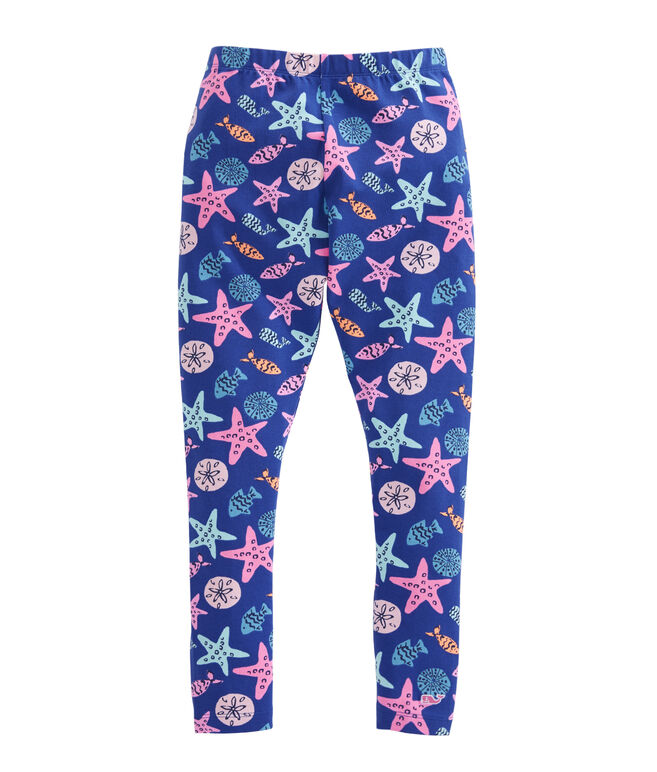 Girls Sea Critter All Day Leggings