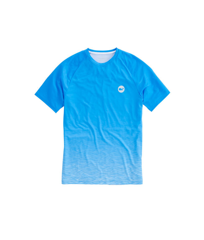 Short-Sleeve Performance Waves Raglan T-Shirt
