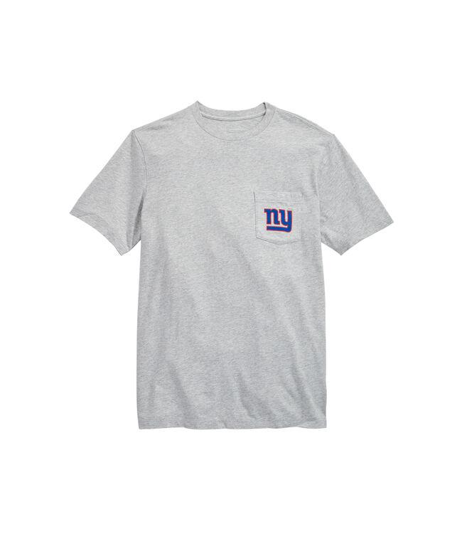 New York Giants Block Stripe Tee