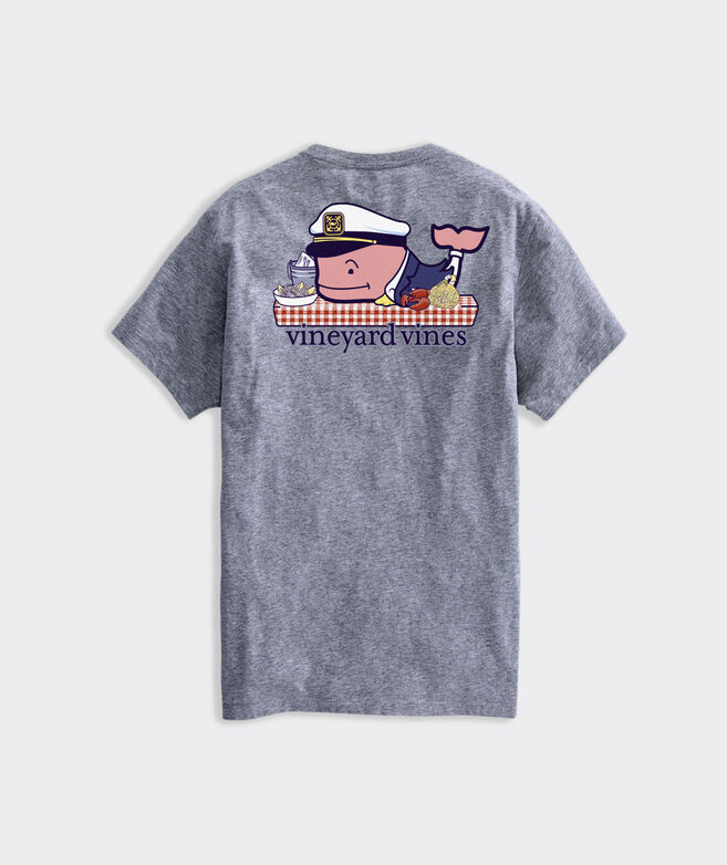 Clambake Whale Short-Sleeve Pocket Tee
