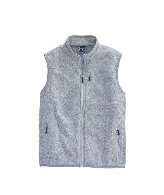 Sweater Fleece Vest