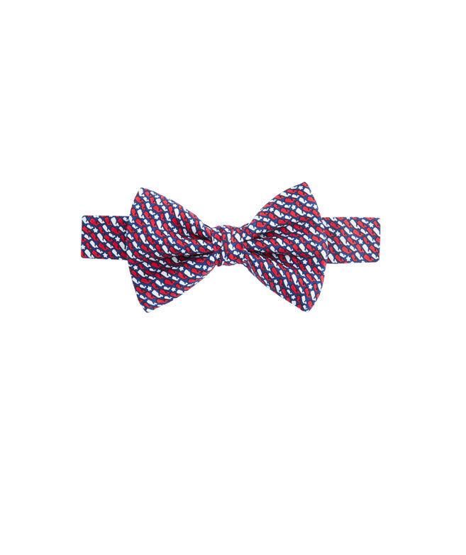 Boys Whale Stars & Stripes Bow Tie