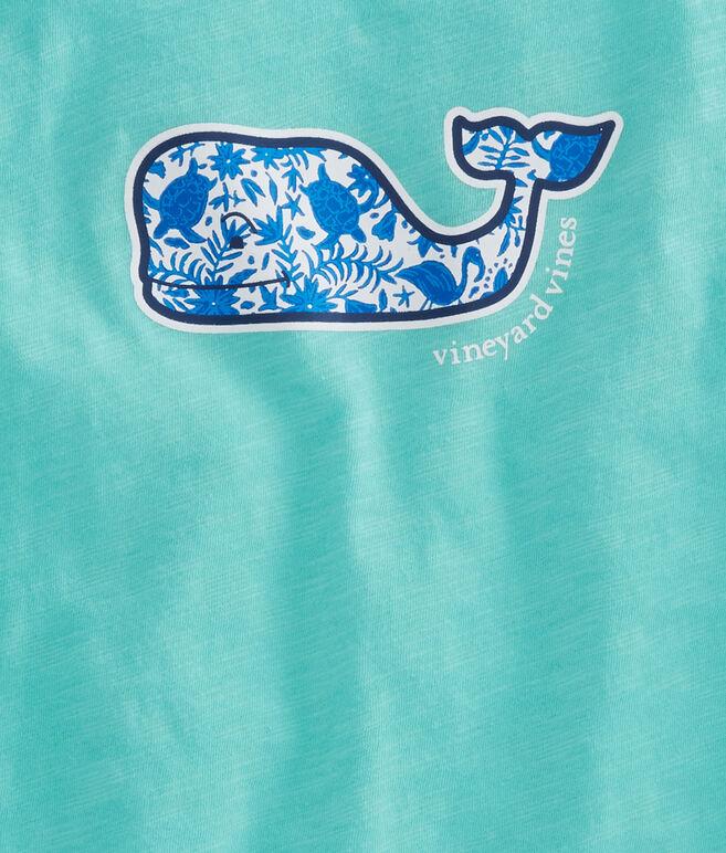 Girls Slub Otomi Whale Swing Tee
