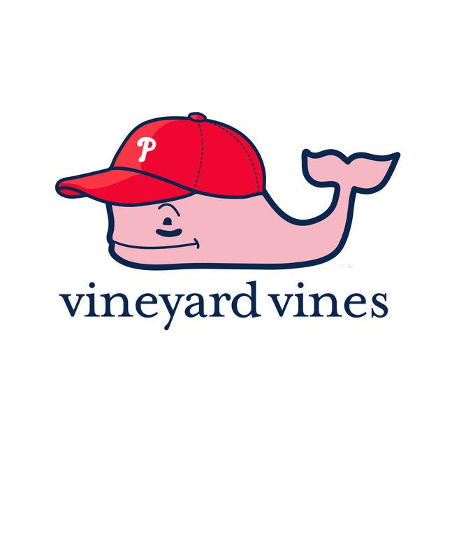 Philadelphia Phillies Baseball Cap Pocket Tee