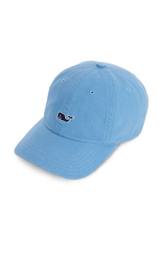 23c4cb8e Whale Logo Leather Strap Baseball Hat