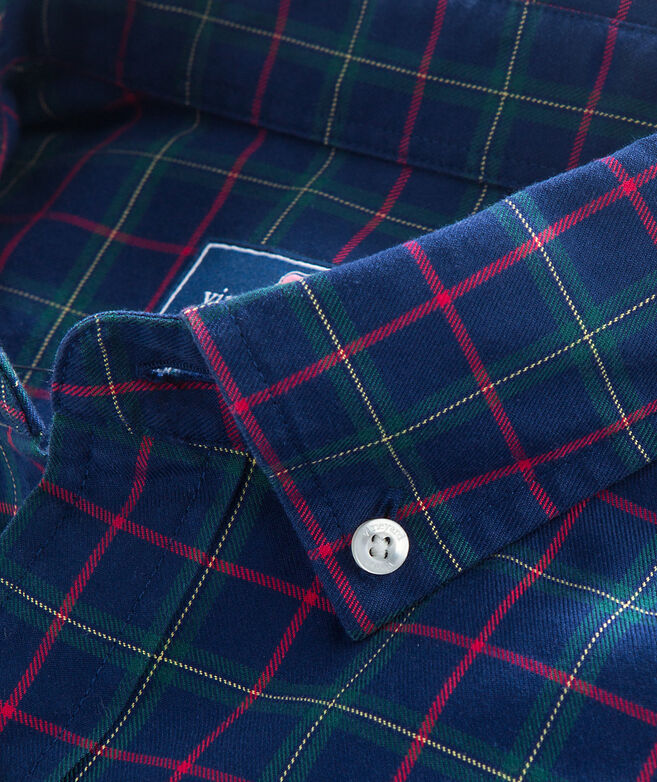 Blue Spruce Plaid Classic Murray Shirt