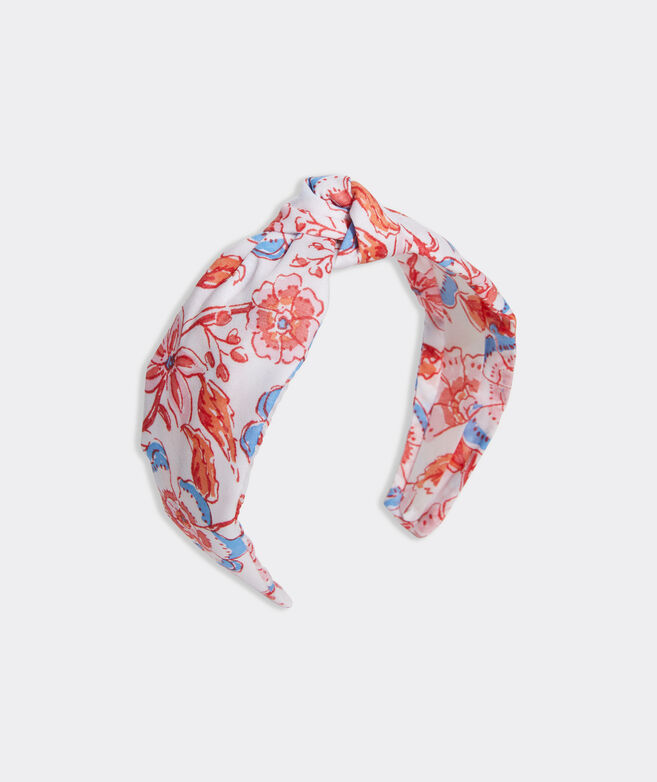 Girls' Frangipani Floral Knot Headband