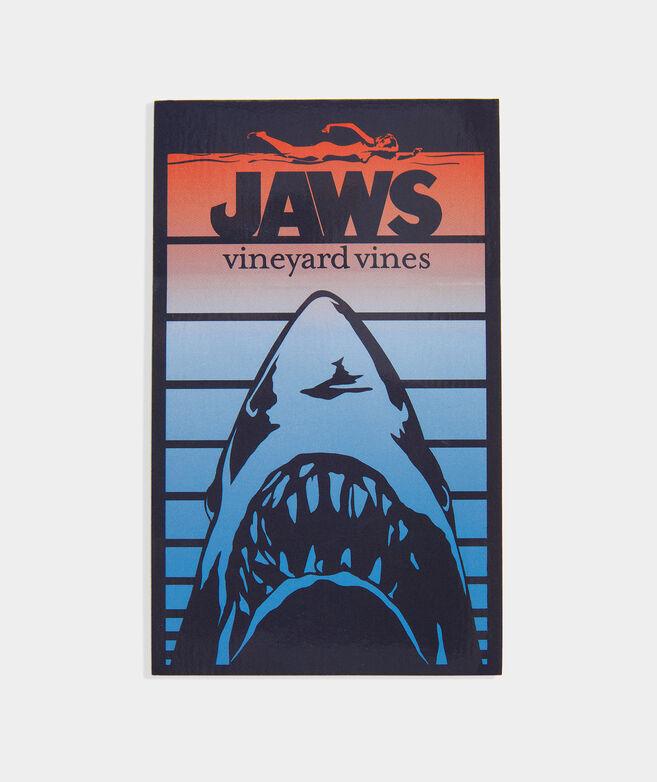 vineyard vines X JAWS Gradient Sticker