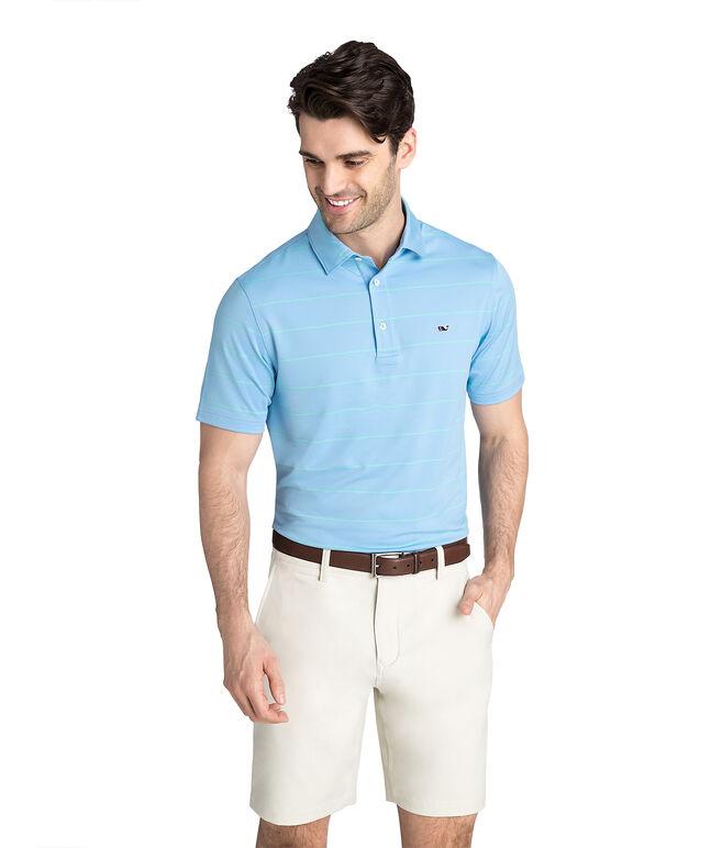 Two Color Stripe Sankaty Polo
