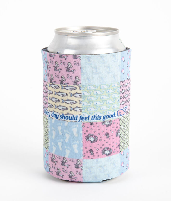 Every Day Should Feel This Good Patchwork Coozie