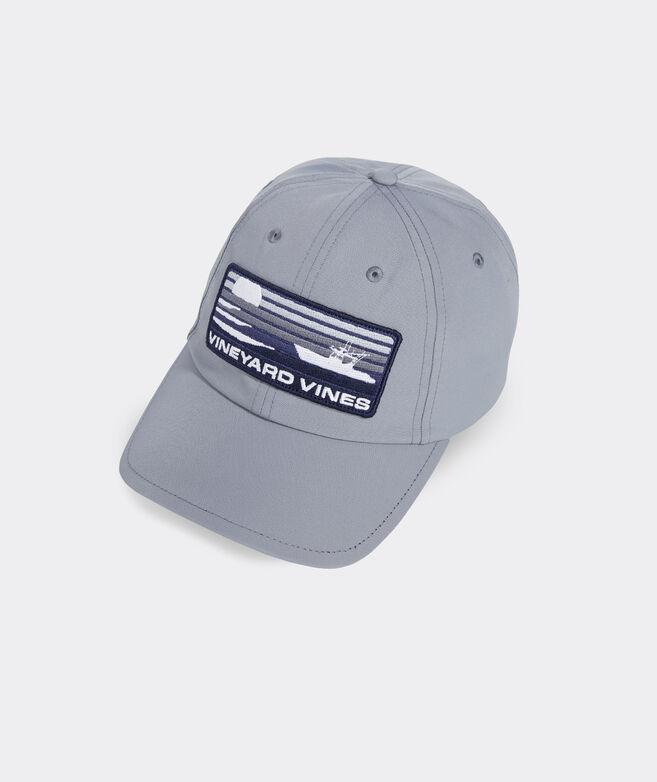 Sportfisher Stripe Patch OTG Performance Baseball Hat