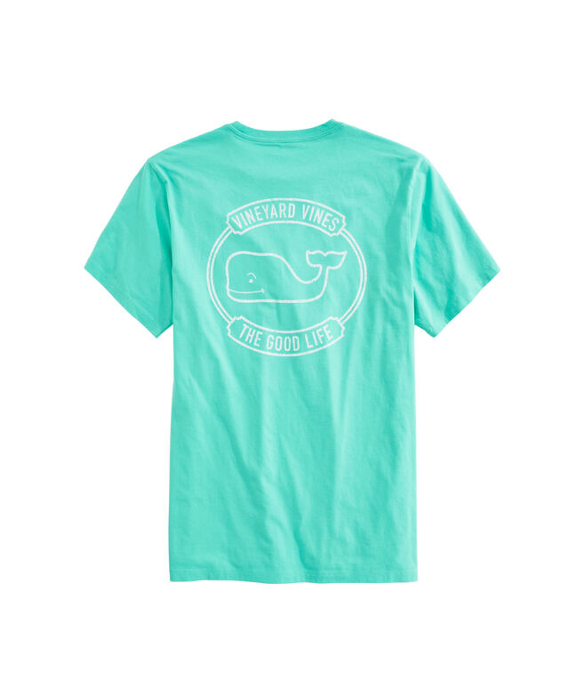 OUTLET Good Life Whale Short-Sleeve Pocket Tee