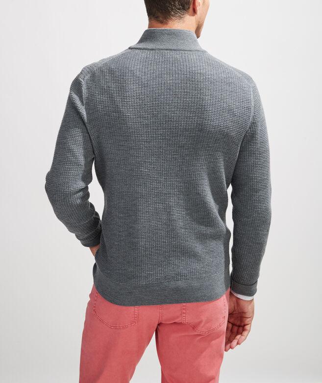 Oxbridge Wool 1/2 Zip Sweater