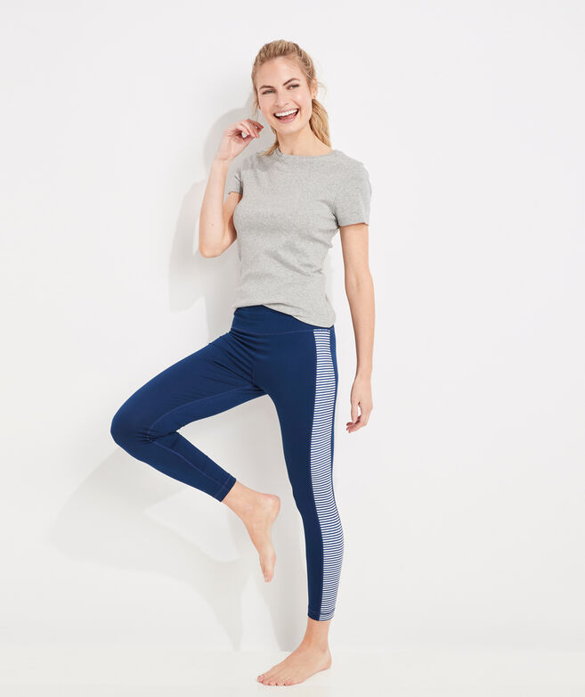 Skip Monday Side-Stripe Leggings