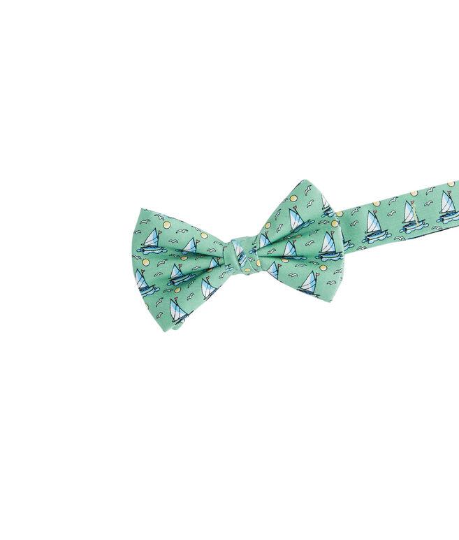 Boys 20th Anniversary Sailboat Bow Tie