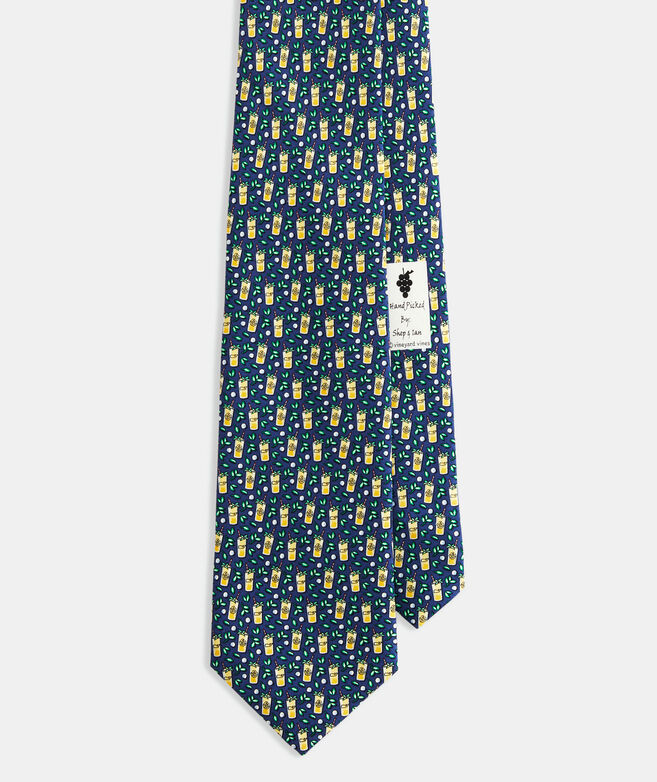 Kentucky Derby Mint Julep Tie