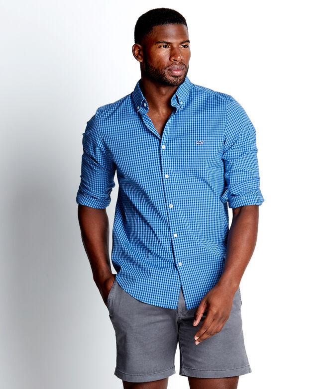 Slim Fit Alicetown Gingham Tucker Shirt