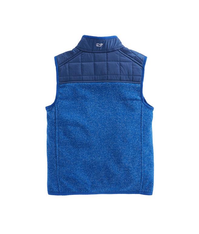 Boys Jaquard Fleece Vest