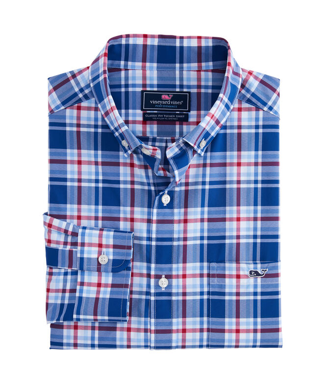 Big & Tall Classic Boatyard On-The-Go Performance Tucker Shirt