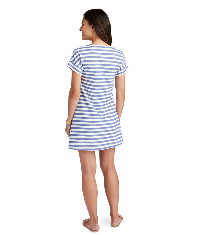 Knit Stripe Swing Dress