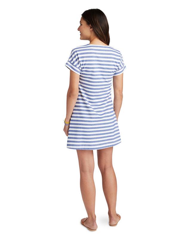Knit Stripe Swing Dress