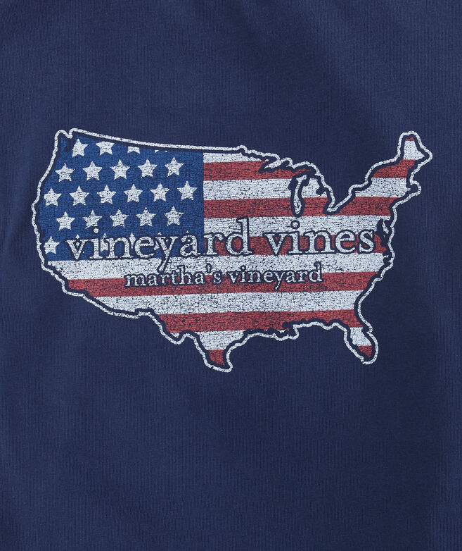 Boys USA Pocket T-Shirt