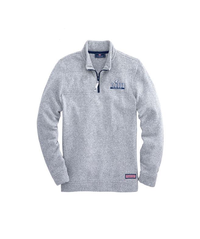 Super Bowl LIII Sweater Fleece Shep Shirt