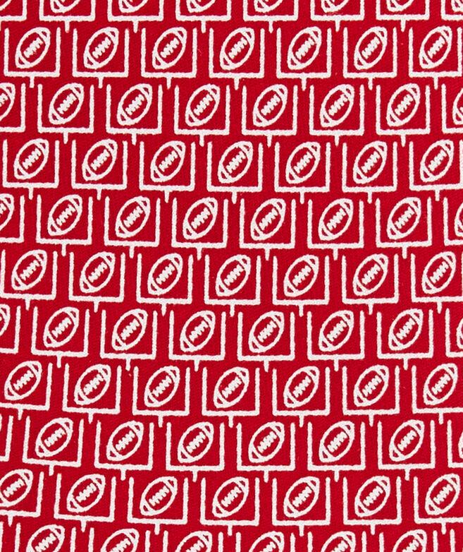Extra Long Field Goal Geo Printed Tie