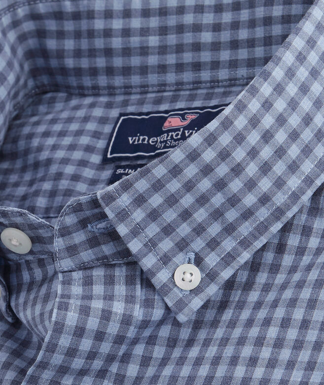 Color To Color Gingham Classic Tucker Shirt