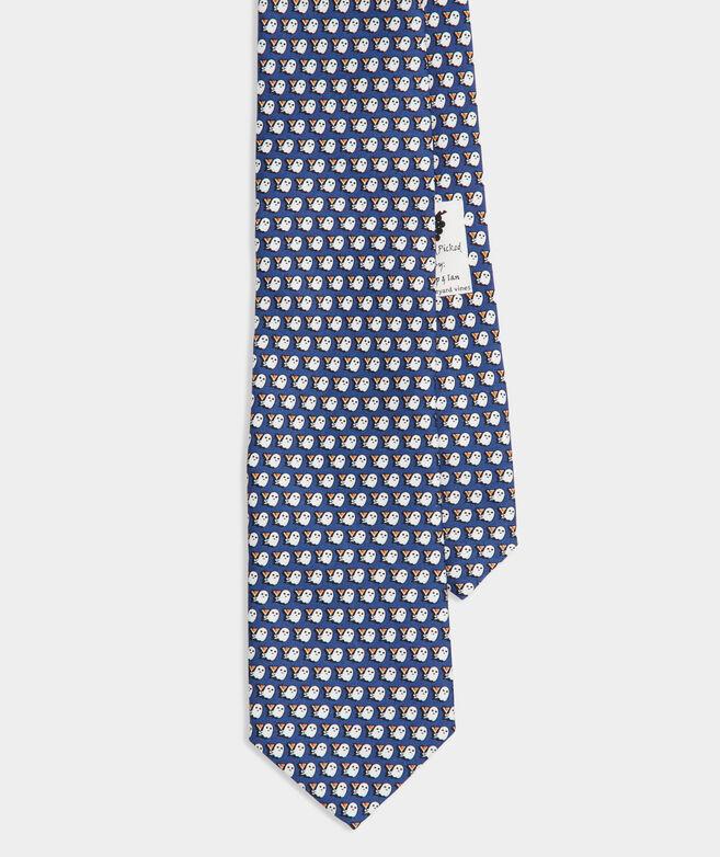 Boos & Booze Printed Tie