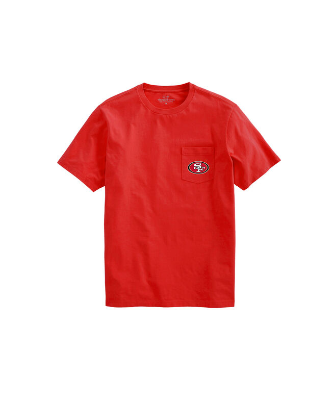 San Francisco 49ers Short-Sleeve Block Stripe Tee