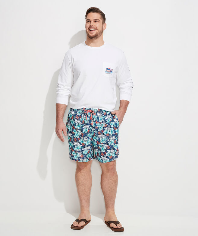 Big & Tall Printed Chappy Trunks