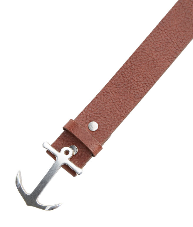 New Anchor Leather Belt