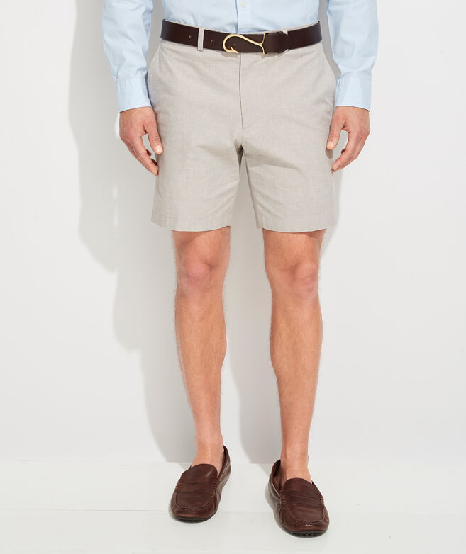 8 Inch Micro Houndstooth Greenwich Shorts