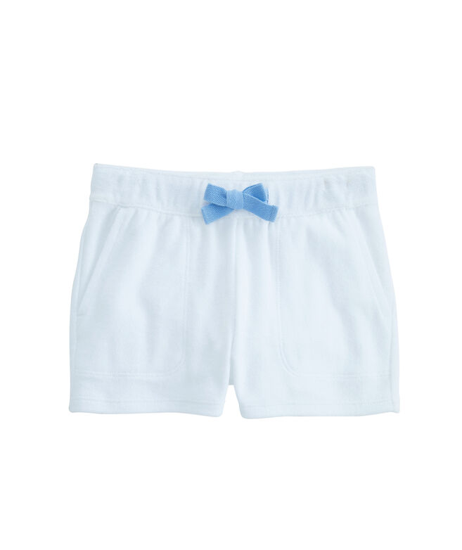 Girls Terry Pull-On Shorts