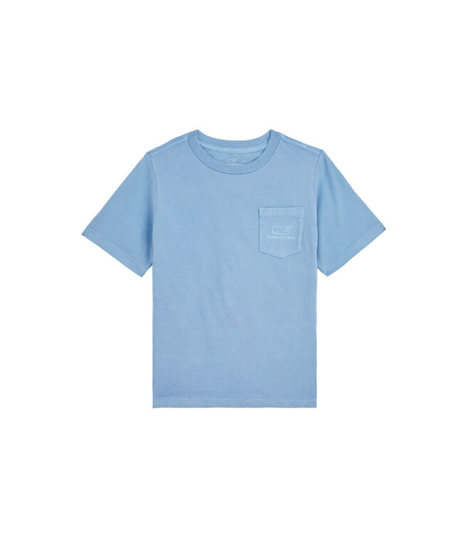 Boys Sunkissed Vintage Whale Short-Sleeve Pocket Tee