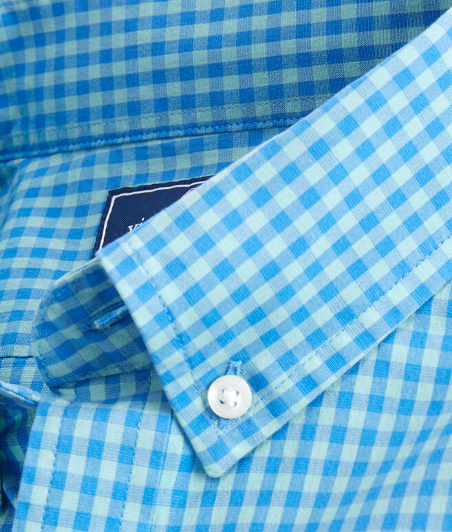 Alicetown Gingham Slim Tucker Shirt