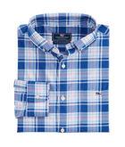Belmond Plaid Performance Classic Tucker Shirt