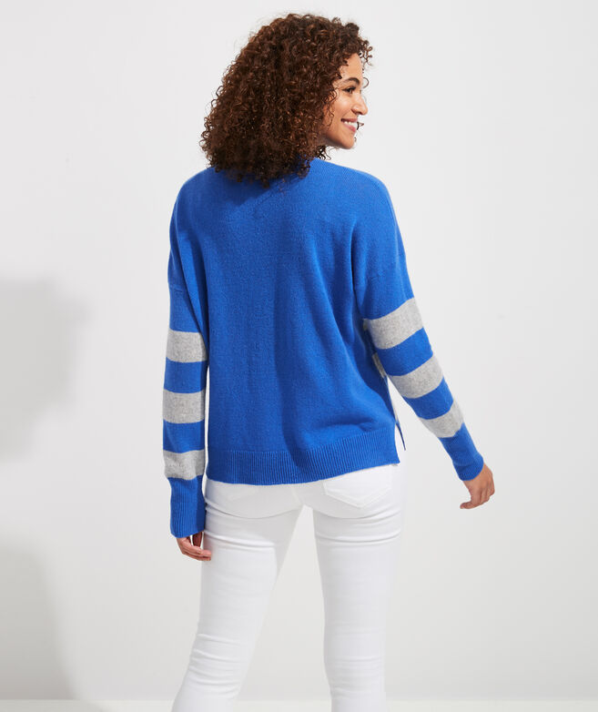 Cove Rugby Cashmere Crewneck Sweater