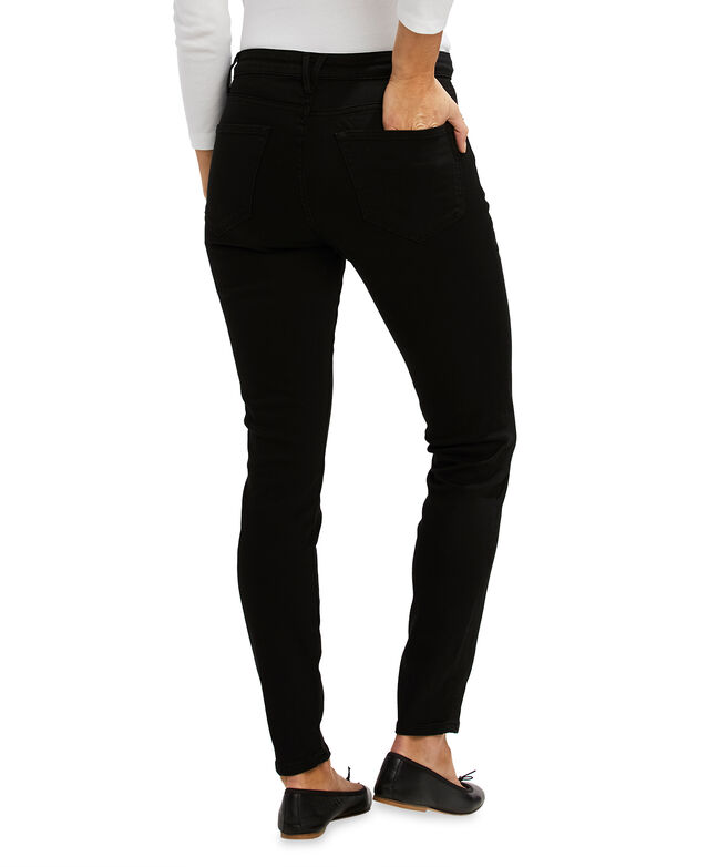 Jamie High-Rise Black Jean