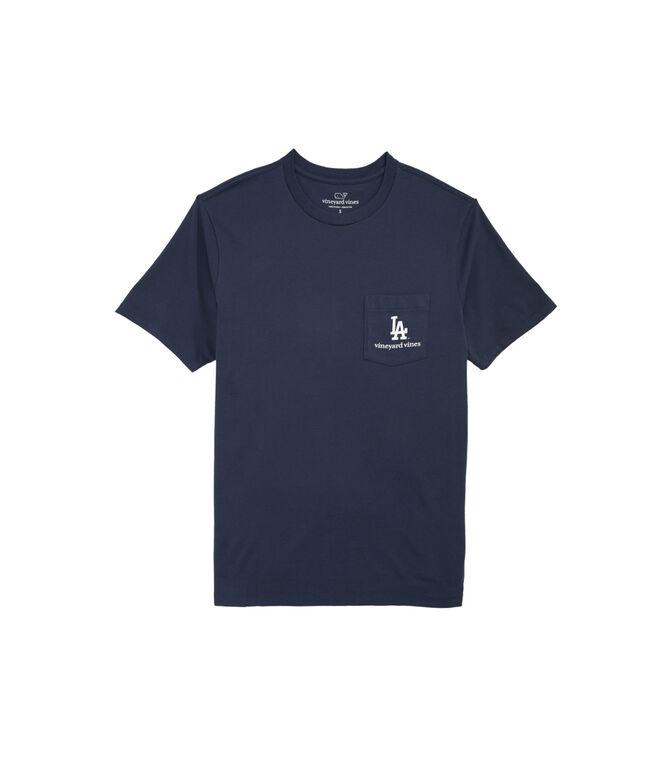 Los Angeles Dodgers Circle Logo T-Shirt