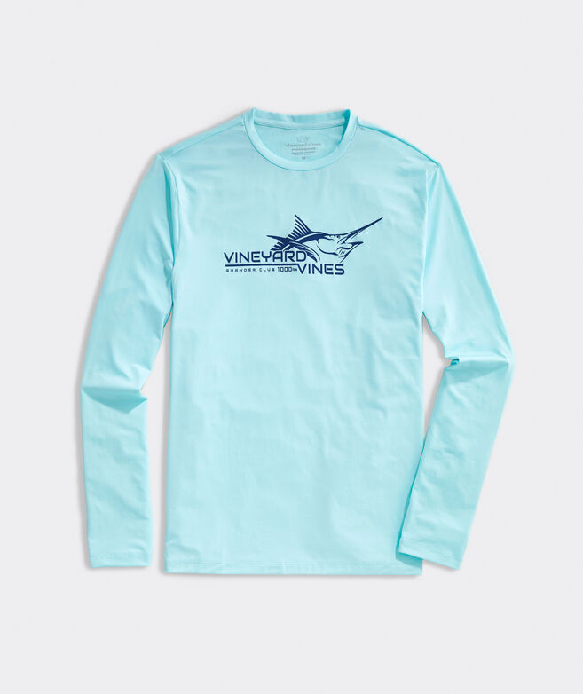 Long-Sleeve Marlin Performance Harbor Tee