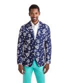 Floral Cotton/Linen Sport Coat