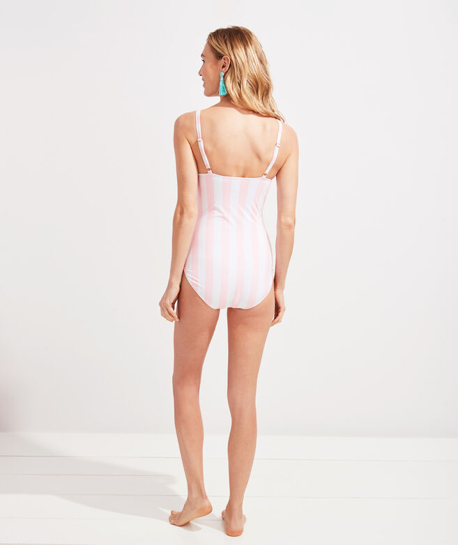 Palm Beach Lately Tie Front One Piece