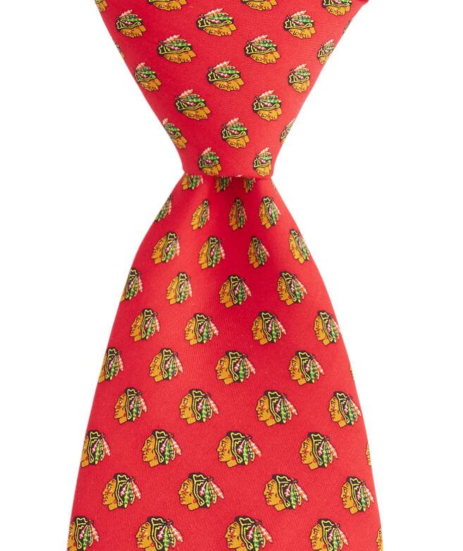 Chicago Blackhawks Logo Boys Tie