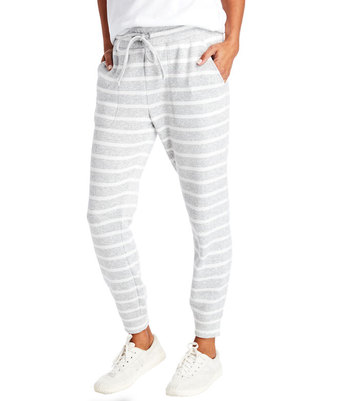 Striped Patch Pocket Joggers